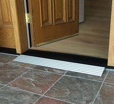 Wheelchair r&s doorway transition Mehr & Wheelchair ramps doorway transition \u2026 | Pinteres\u2026