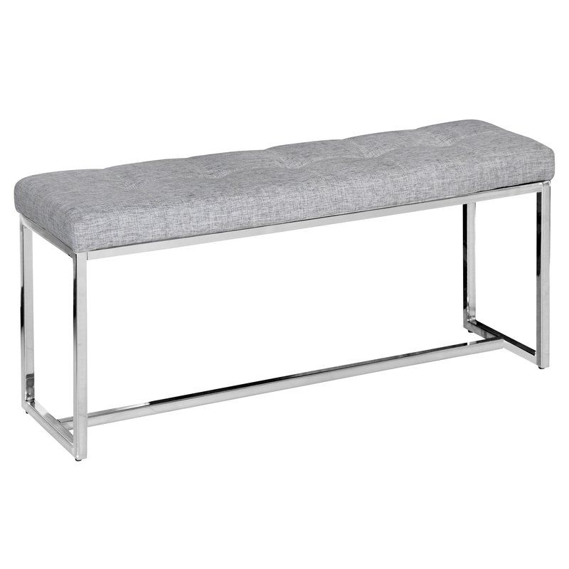 this sleek and narrow bench is just what you need to