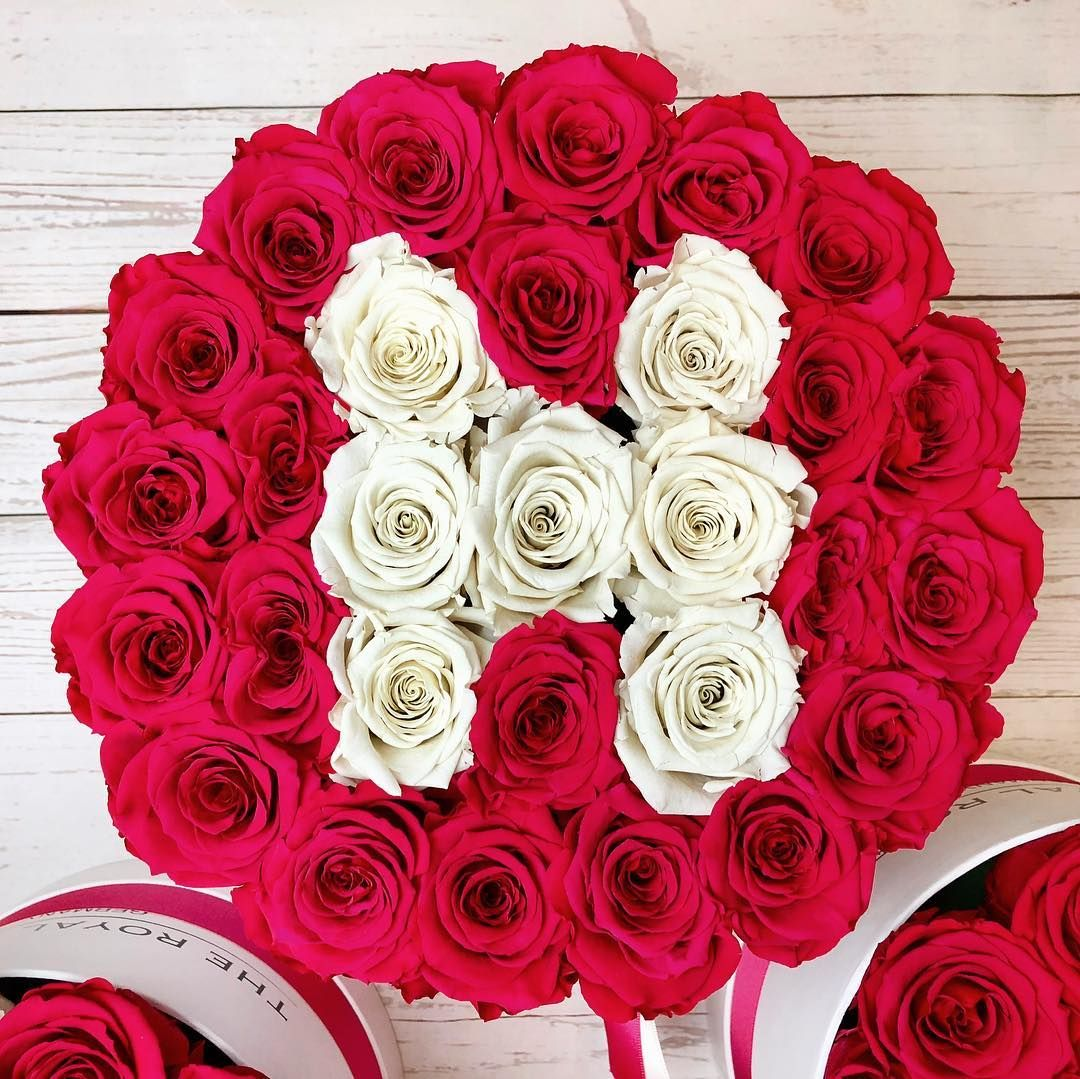 The Royal Roses Rosenbox The Royal Roses Rosenbox Flowerbox