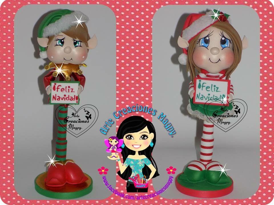 Pin De Cindy Ayala En Mis Muñequitos: Pin De C&A En Navidad (Duendes)