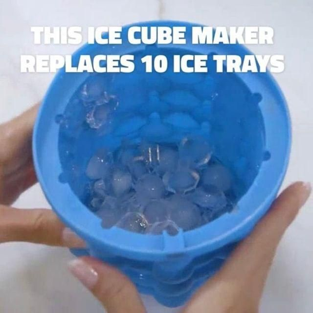 Revolutionary Ice Maker Save Space In Your Freezer And Stay Chill Video In 2020 Cool Gadgets To Buy Cool Things To Buy Custom Tumbler Cups