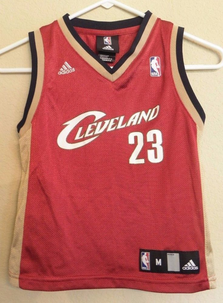 b4a41480adf Adidas LeBron James Basketball Jersey 23 Cleveland Cavaliers Cavs Youth Boys  5 6  adidas  ClevelandCavaliers
