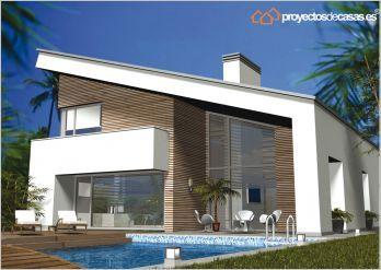 Viviendas unifamiliares modernas buscar con google for Proyectos casas modernas