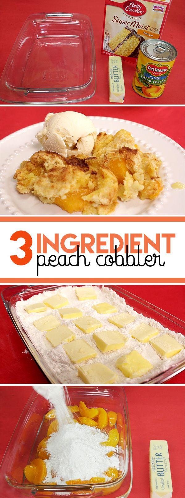 Peach pie cake mix recipe