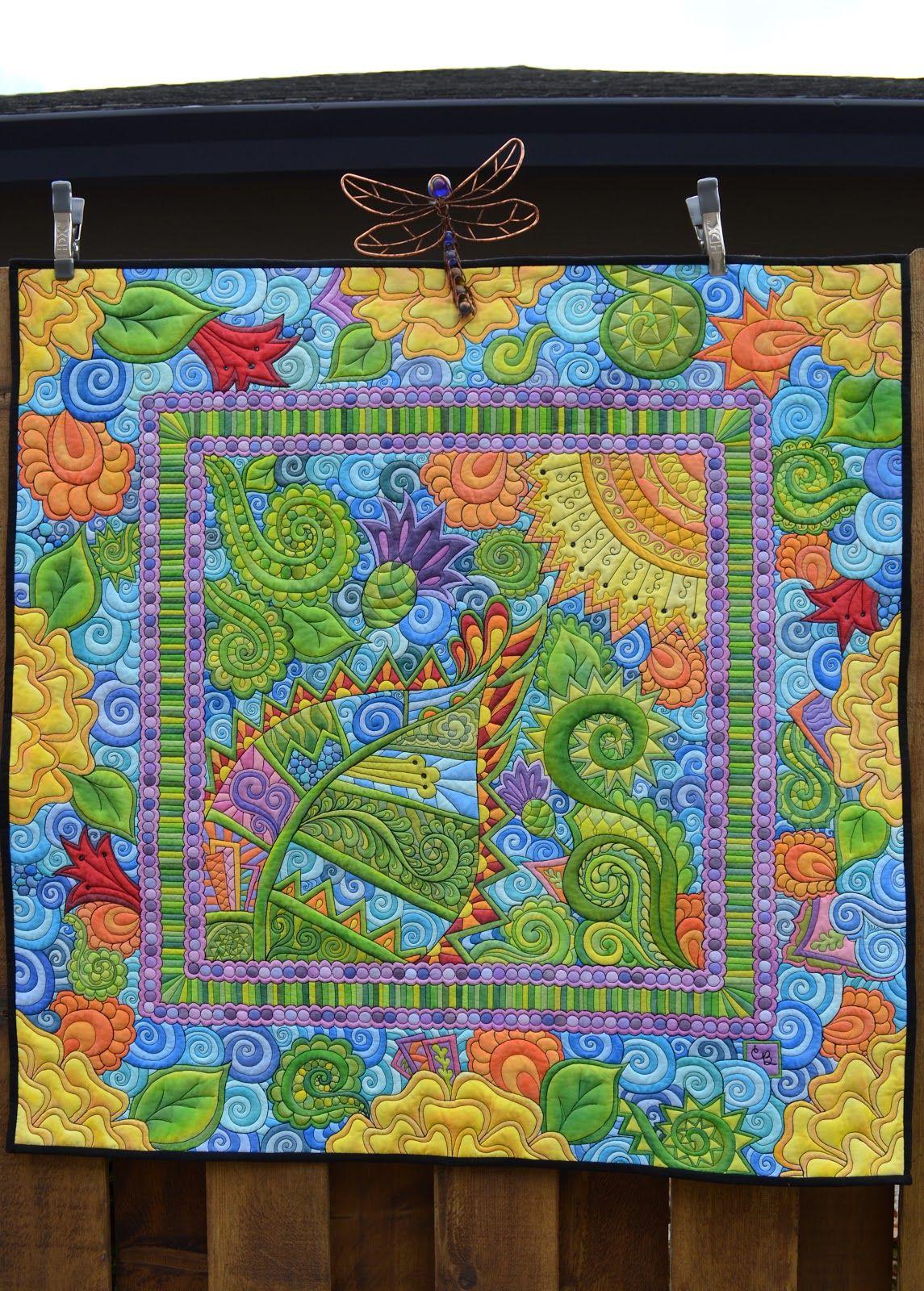 DSC_0019.JPG (1145×1600) Flower quilts, Bubble quilt, Quilts