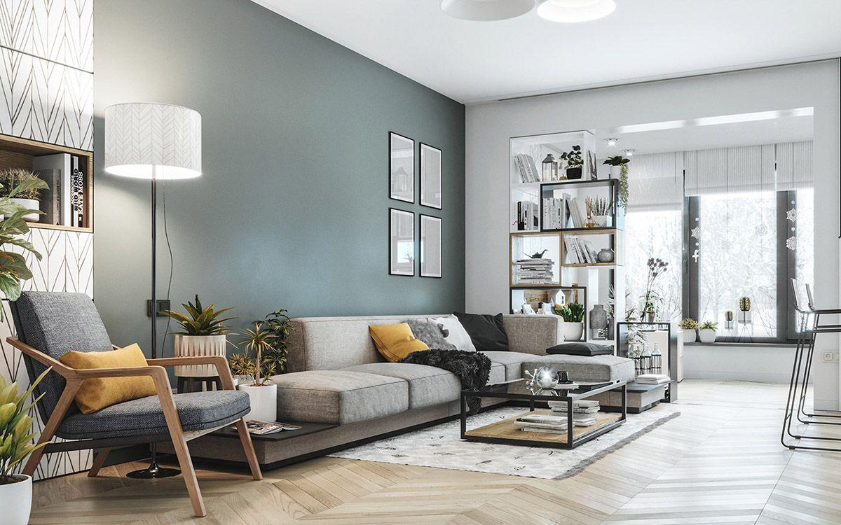 5 Refreshing And Stylish Scandinavian Home Decor Designs 5个清新
