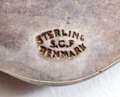 Sterling Denmark Scf S Christian Fogh Maker S Mark Jewelry Maker Sterling Jewelry