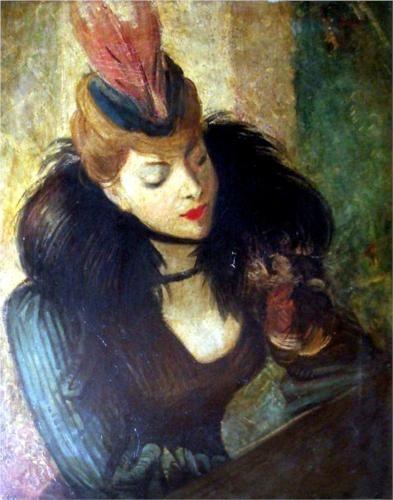 Red Feather - Giovanni Boldini