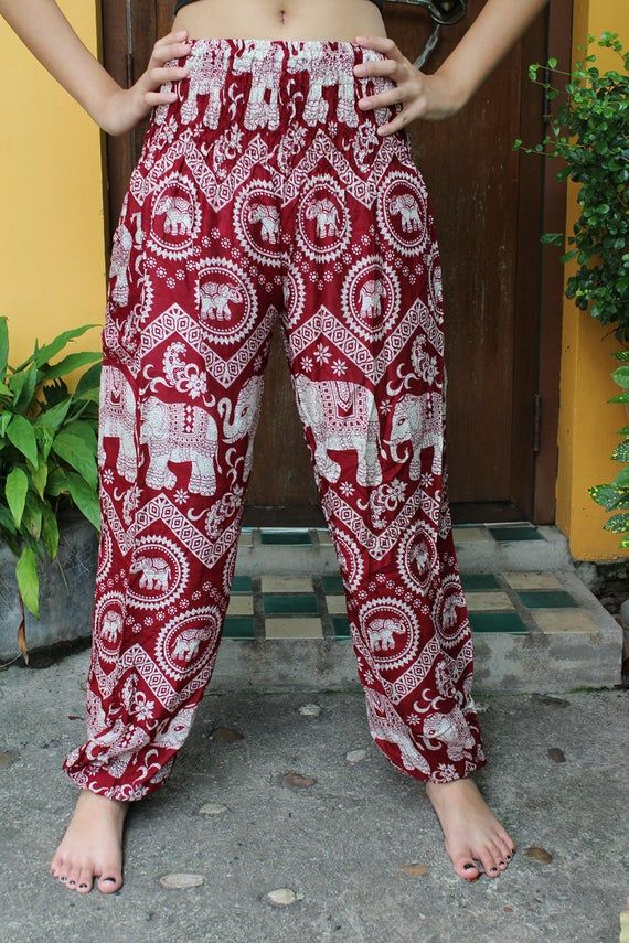 Womens Hippie Yoga Pants