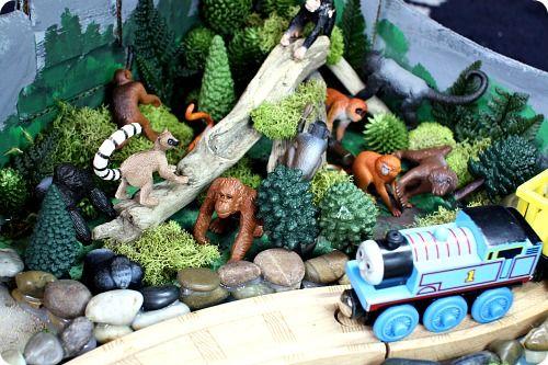 Diy Zoo Train Set For Wooden Trains Trains Wooden Train Train