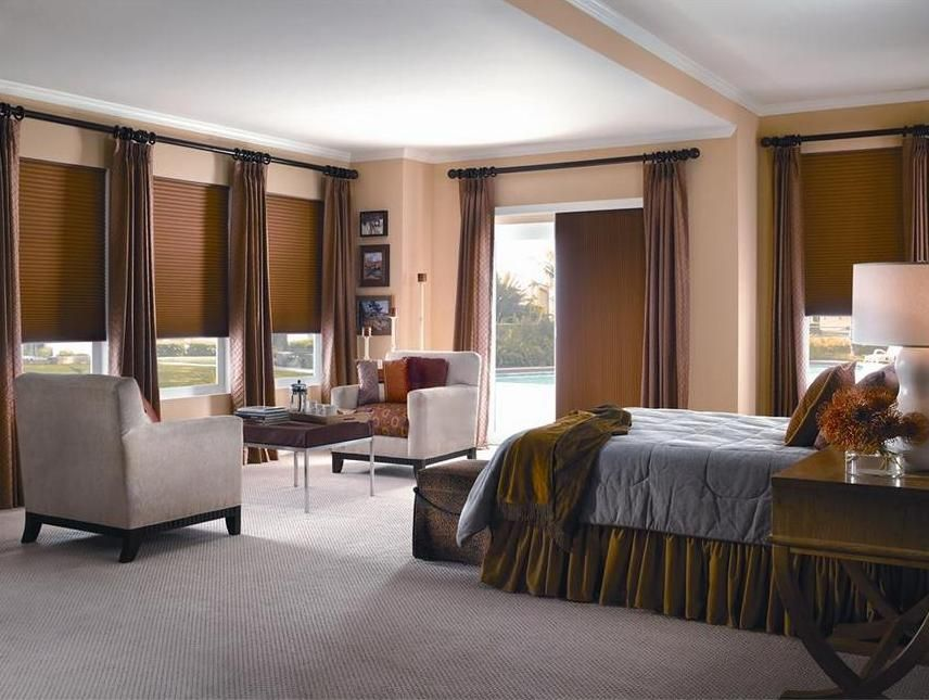 Cellular shades are great for vertical applications (over the patio door) and horizontal. & Cellular shades are great for vertical applications (over the patio ...
