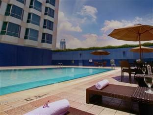 Swimming pool facilities for our hotel guests - Millennium Hotel Sirih Jakarta
