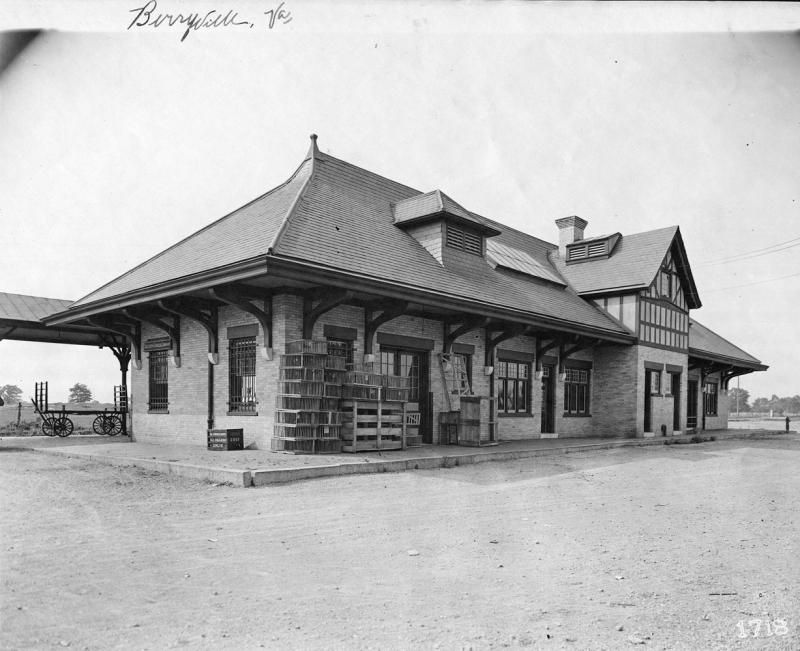 N & W Station, Berryville, VA (With images) Train