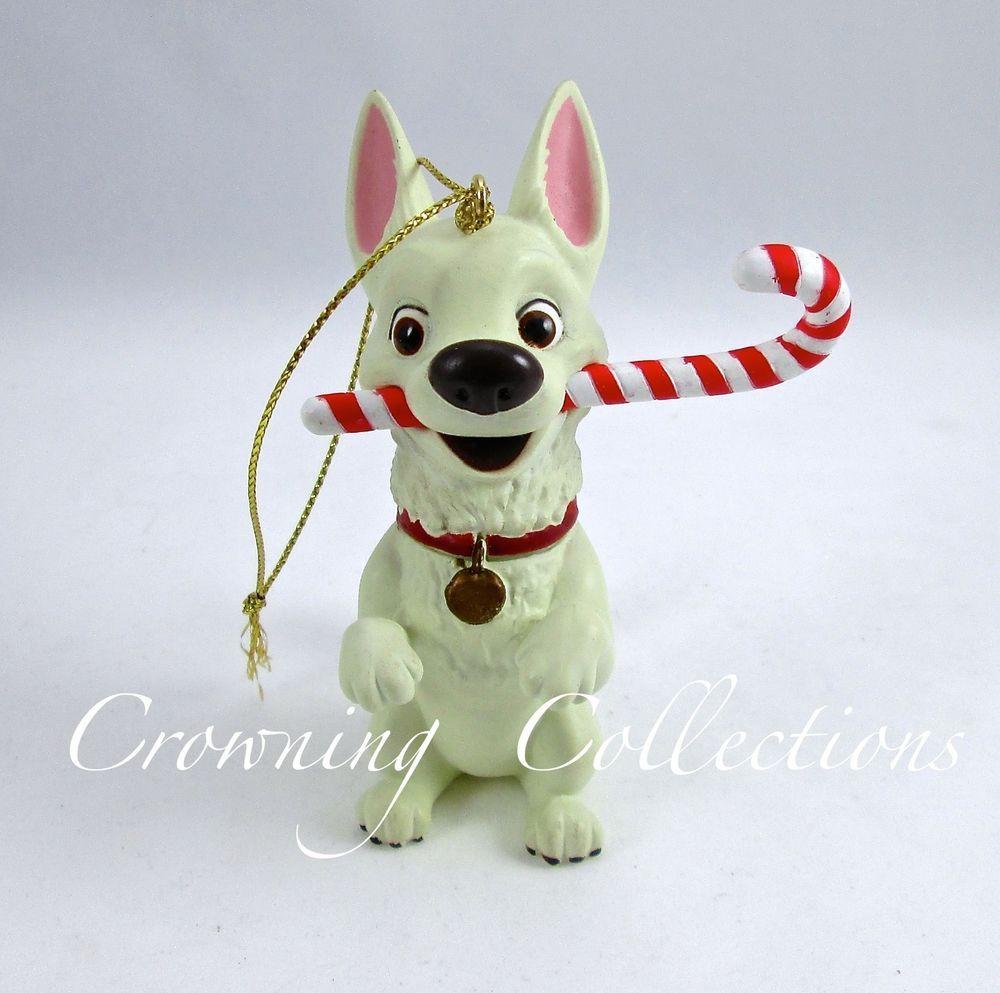 BOLT the DOG Disney Grolier Presidents Edition Christmas Ornament NEW in BOX!