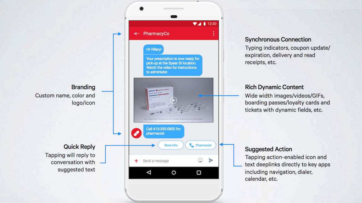 Google And Others Expand Initiative Launching New Rcs Messaging Platform The New Native Android Messaging App And Messaging App Marketing System Sms Marketing