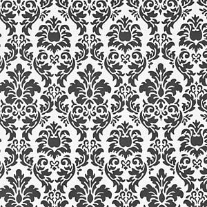 Papel Parede Arabesco 0 53x10m Preto Branco Leroymerlin Com Br