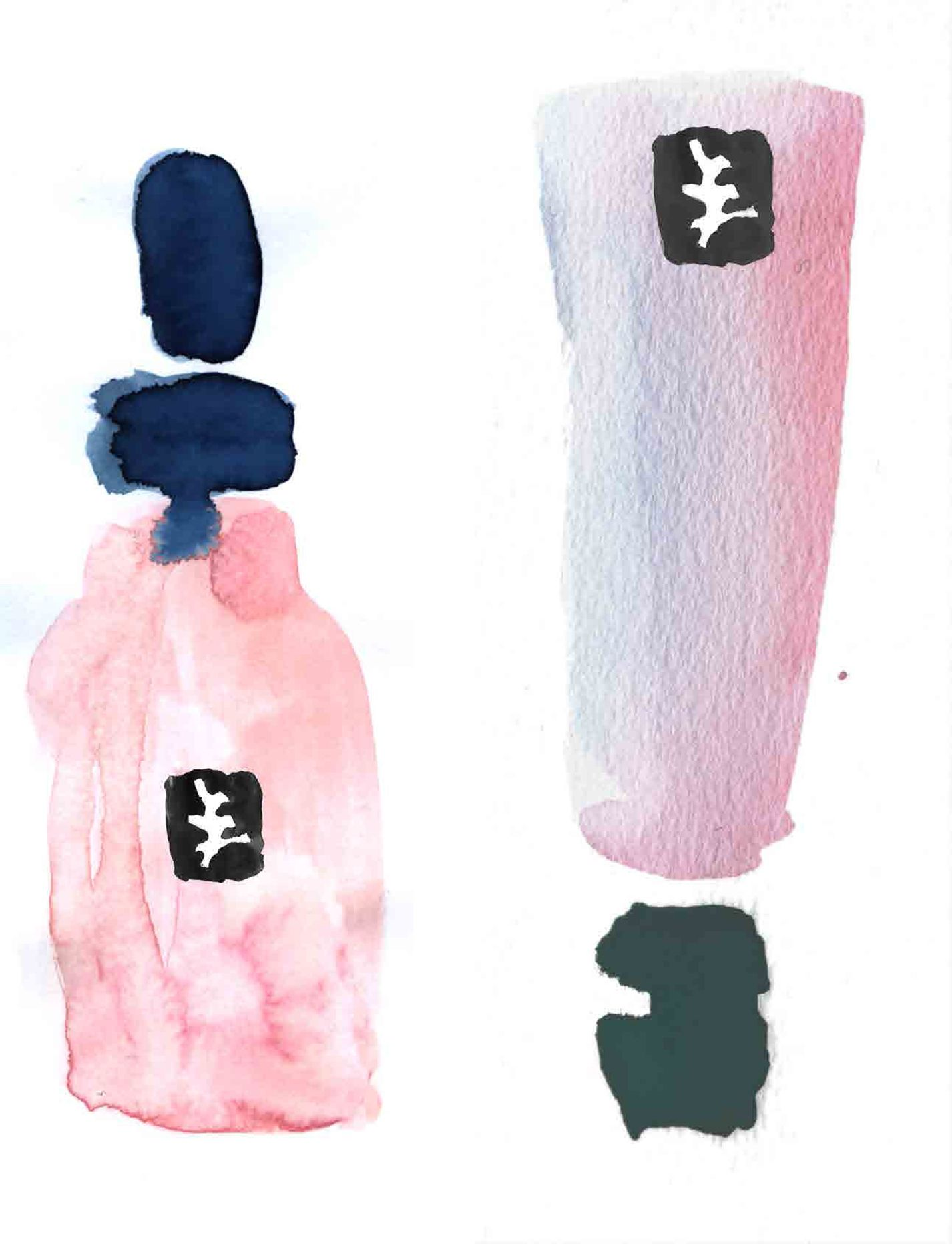 Julia Perrin cosmetic New : #illustration #juliaperrin #cosmetic #beauty #erichennebertagency