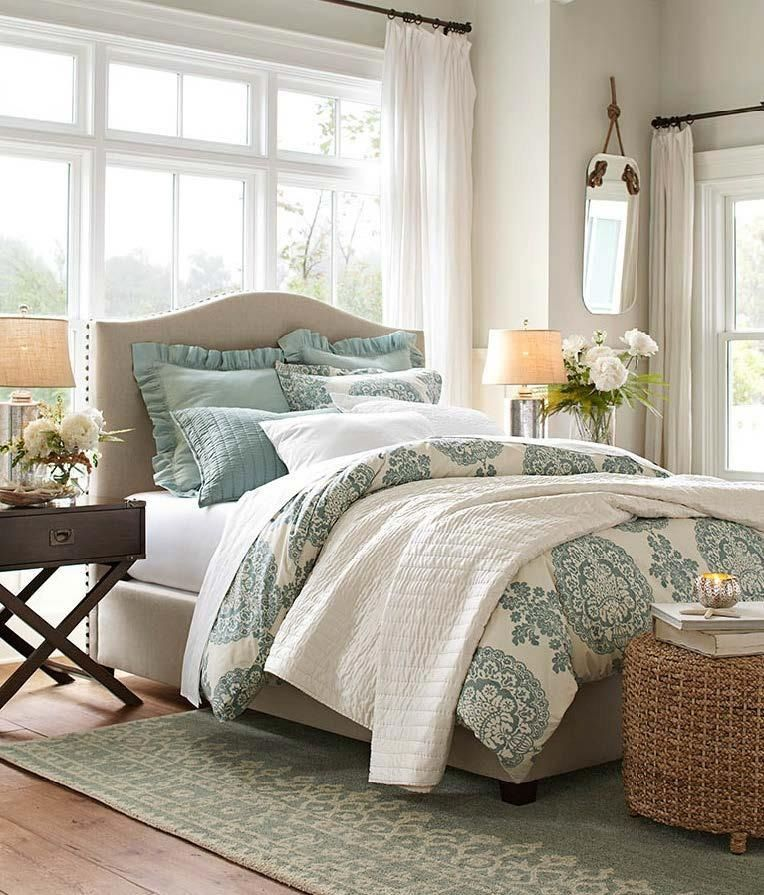 Tranquil Color Inspiration Blue In 2019 Bedroom Decor