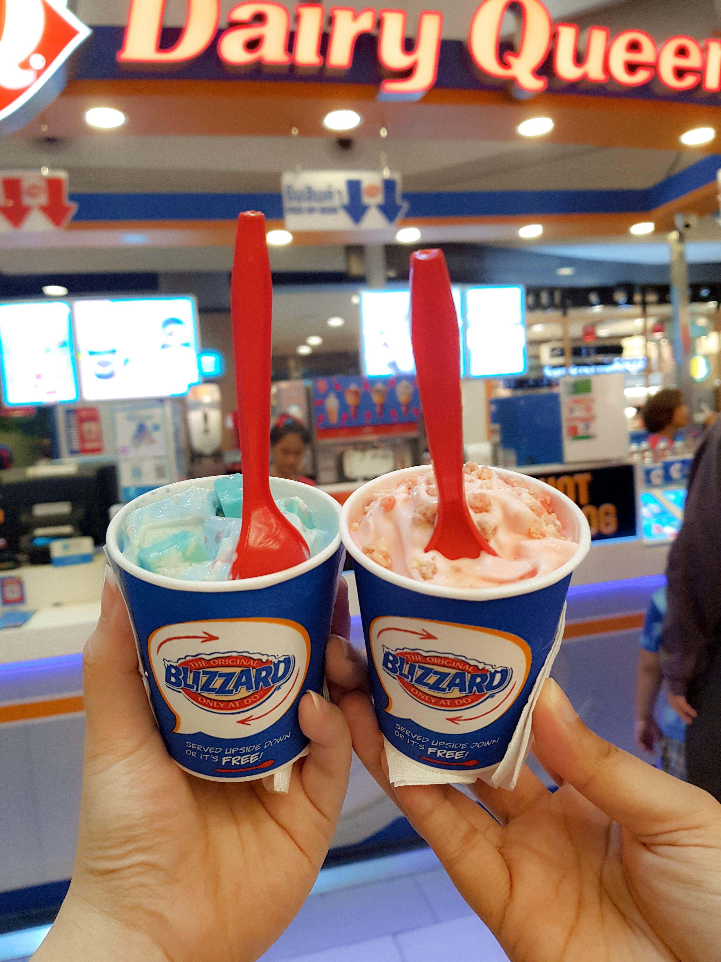 Unicorn Blizzard Cotton Candy Blizzard Dairy Queen Thailand Cotton Candy Blizzard Dessert Recipes Dairy Queen