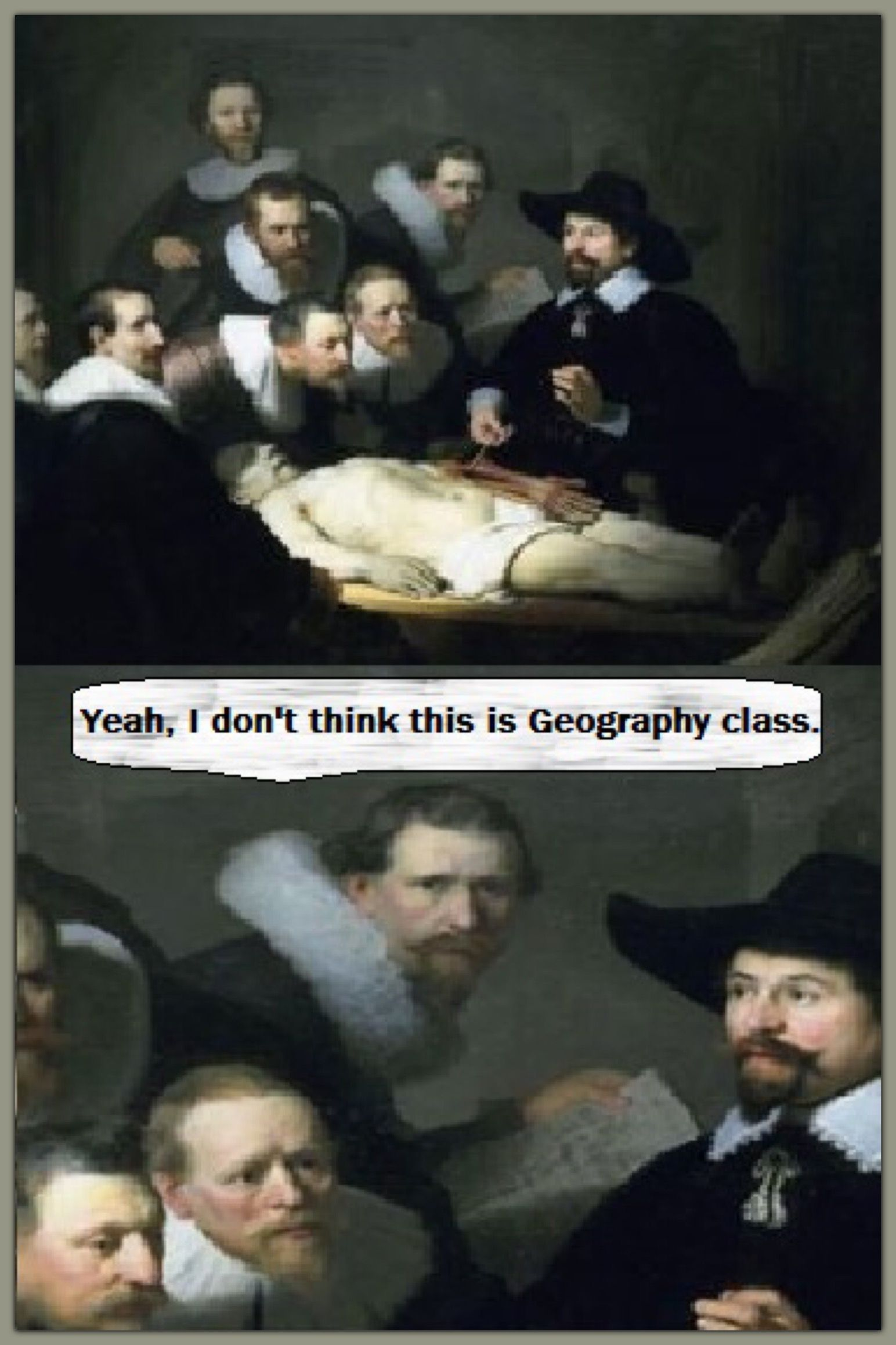 I LOVE Rembrandt, so this little spoof left me in stitches!! Click ...