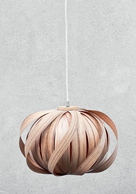 handmade lighting design. flaco design wooden pendant handmade sustainable natural light lighting k