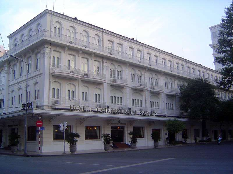 The City S Premier Hotel In The Colonial Period The Continental