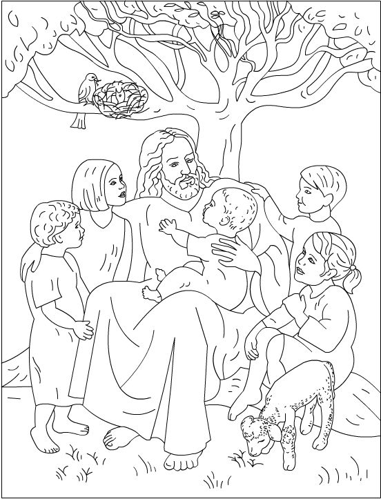 Nicole S Free Coloring Pages Jesus Loves Me Sunday School