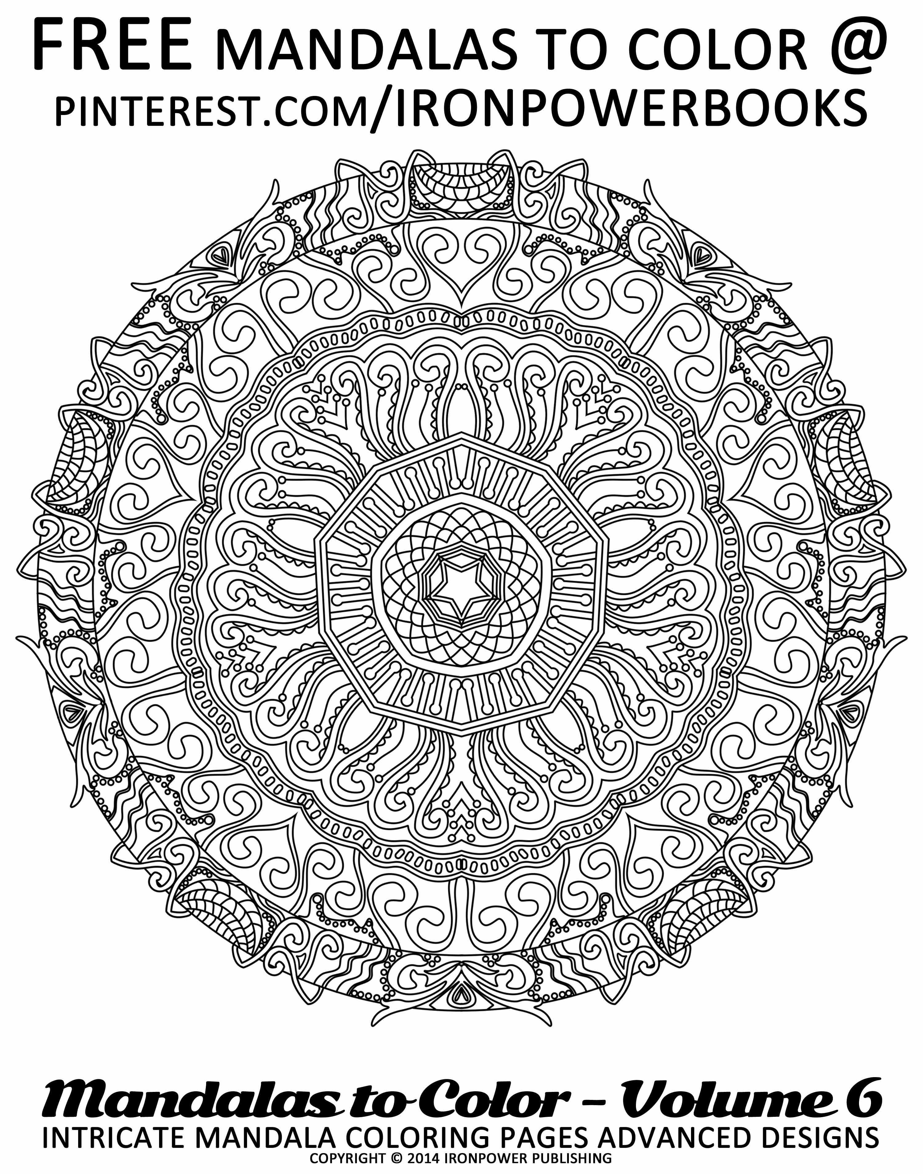 - Mandala Coloring Pages For Free @ironpowerbooks Visit Http://www