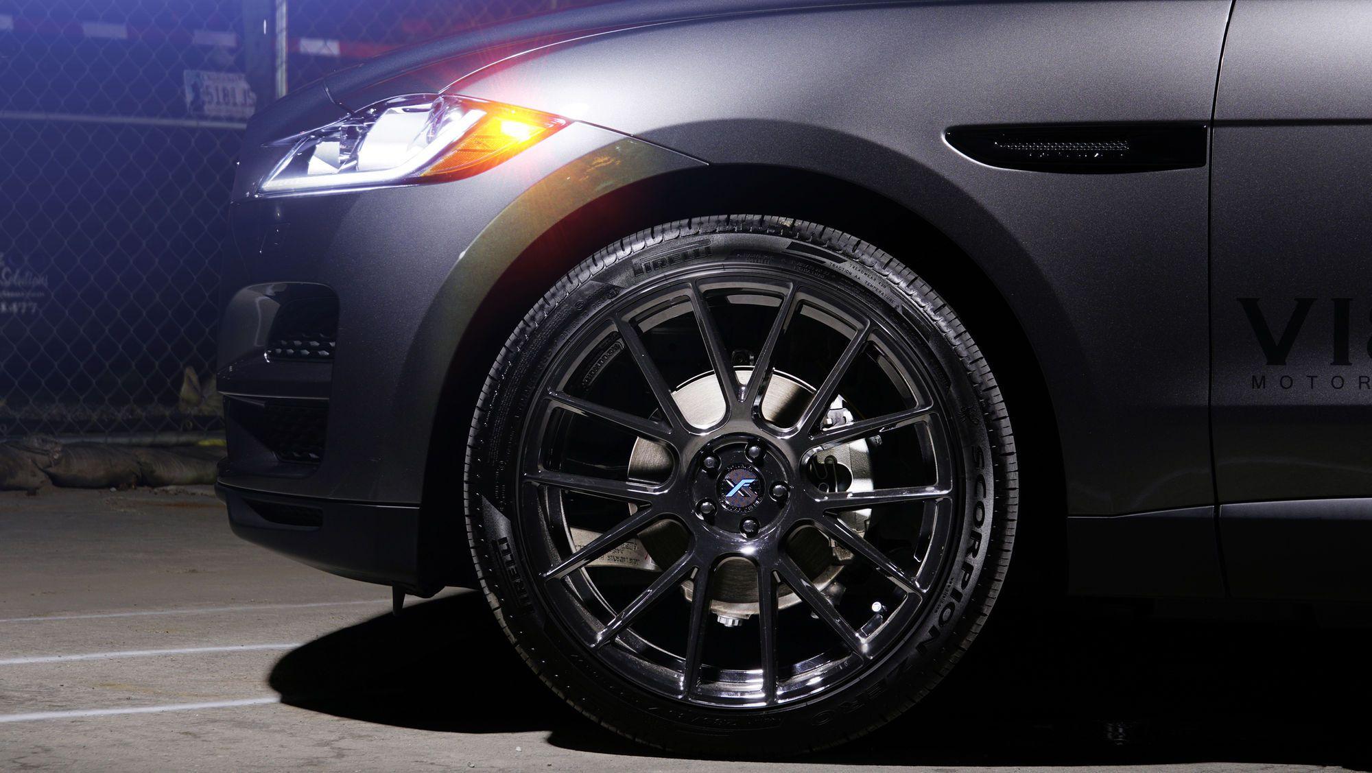 Jaguar F Pace On 22 Xo Xf1 Wheels