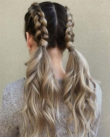 1 Double Dutch Braids 10 Braided Hairstyles For This Summer