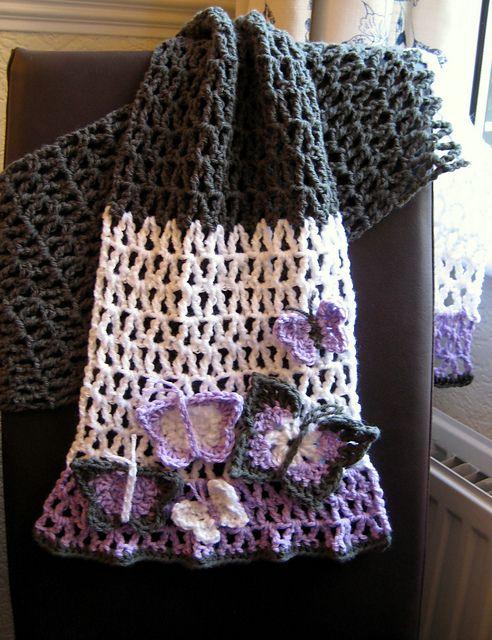 Crochet Patterns Galore Butterfly Scarf Free Scarf Crochet Unique Crochet Patterns Galore