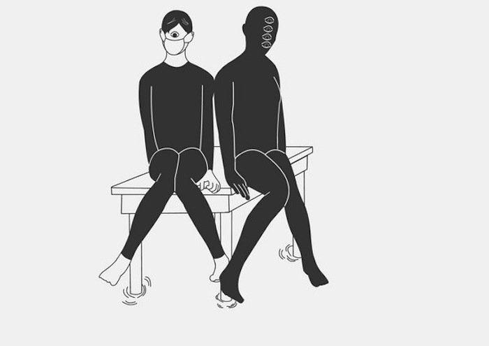 Ilustraciones que reflejan cómo es vivir con una enfermedad mental.