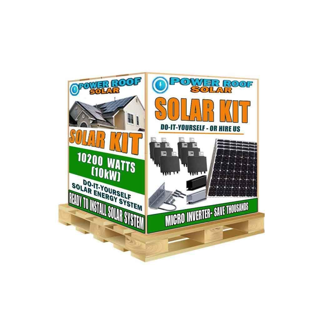 10200 Watt 10kw Solar Panels With Ap Systems Micro Inverters Solar Technology Solar Projects Solar Panels