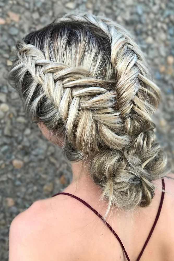 42 Braided Prom Hair Updos To Finish Your Fab Look | Hair ...