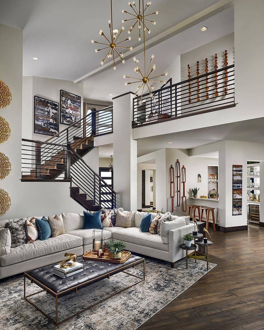 💕 partners   Contemporary decor living room, Luxury house designs, Modern house design