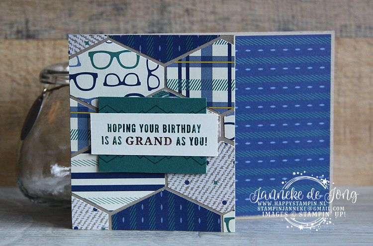 Stampin' Up! Hoping your Birthday Mannelijke