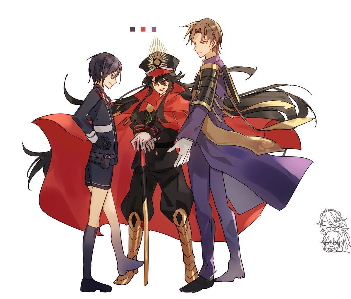 KANOSE(zhujichuzi) 님 트위터 (With images) Anime, Touken