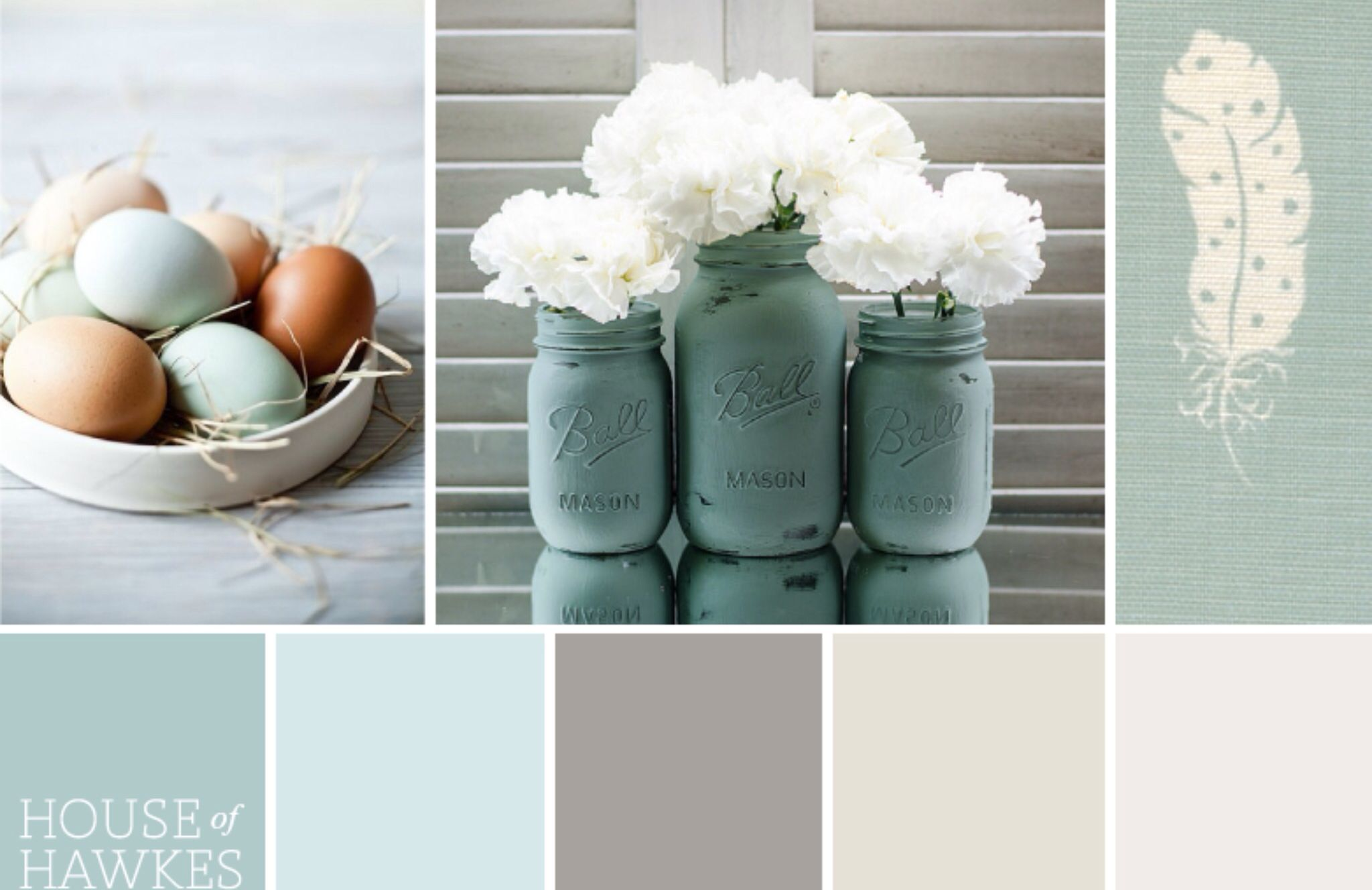 Duck egg color palette teal sofa in lighter wall living - Grey and duck egg blue living room ideas ...