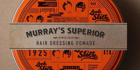 Student Spotlight: Murray's Superior Hair DressingPomade - TheDieline.com - Package Design Blog
