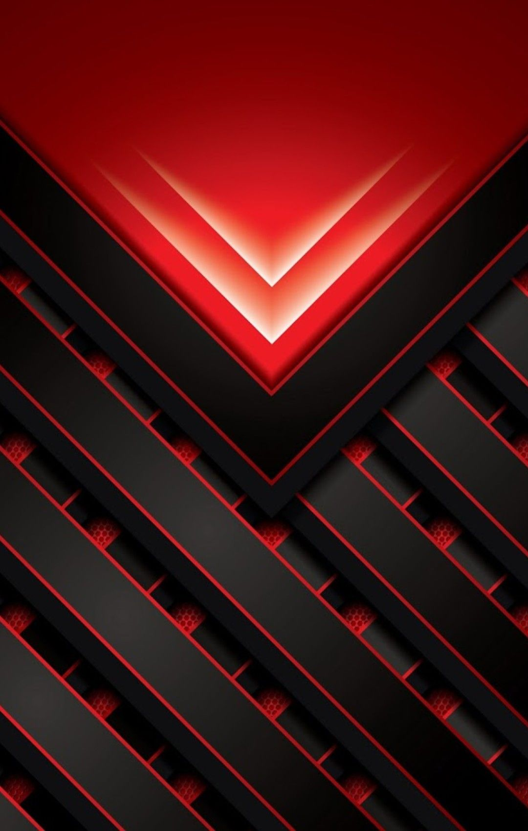 Red and Black Geometric Wallpaper | Abstract iphone ...