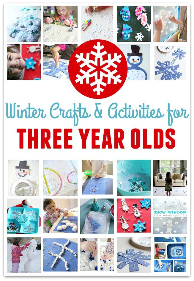 22 Winter Crafts For Three Year Olds Winter Lesson Plan Winter