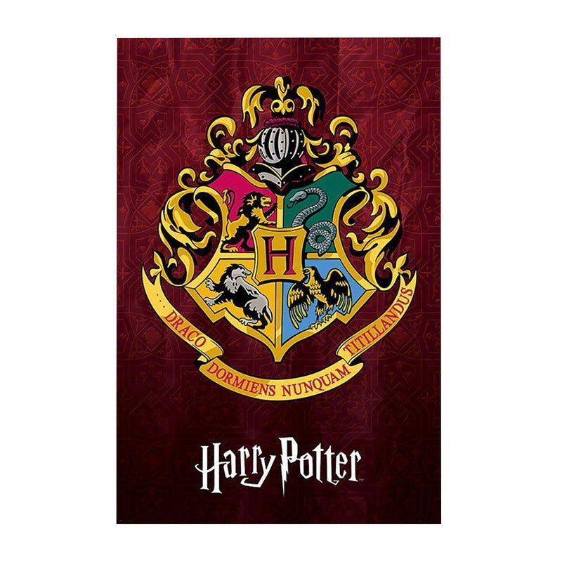 Harry Potter Hogwarts Crest Poster In 2021 Harry Potter Hogwarts Hogwarts Crest Hogwarts