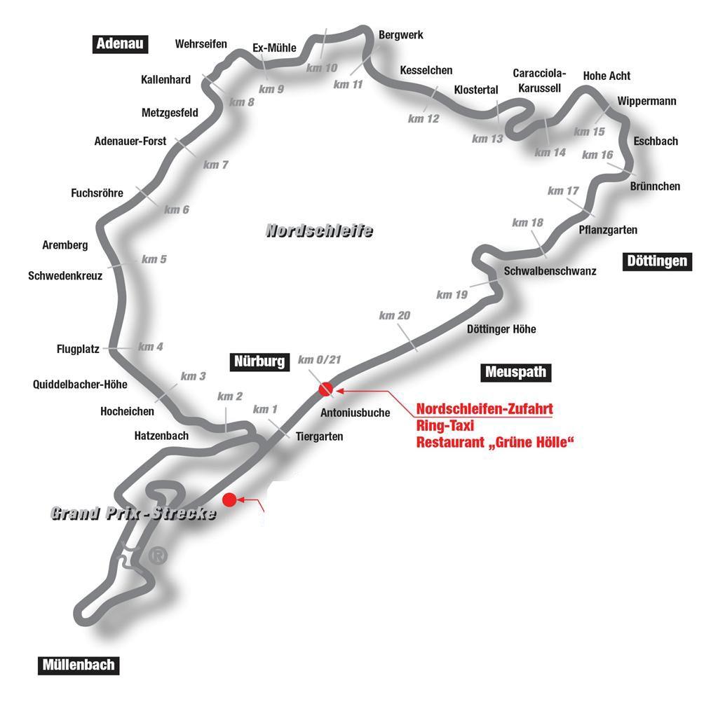 Nurburgring Nordschleife Nurburgring Nordschleife Adenau Faller Ams