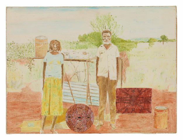 Timothy Johnson (born 1947) Daisy and Tim Leura, 1982