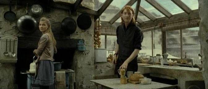 Fleur Et Bill Fleur Delacour Harry Potter Tournage