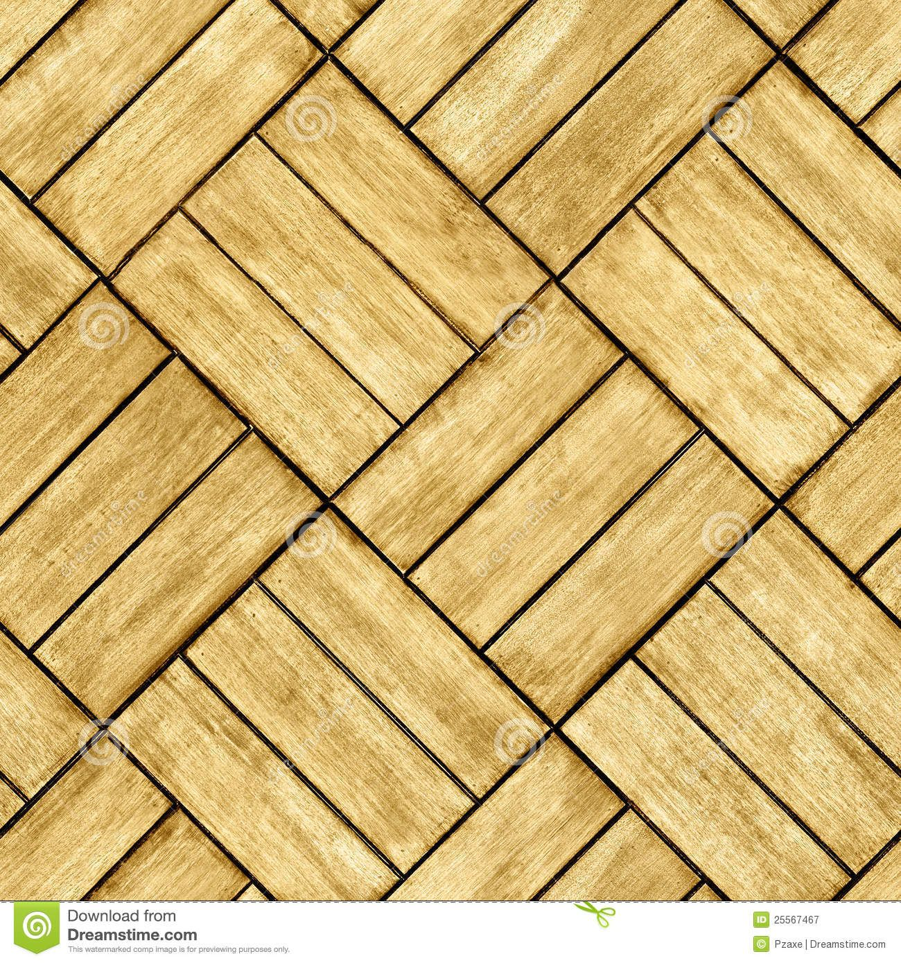 Parquet Floor Seamless Texture Royalty Free Stock