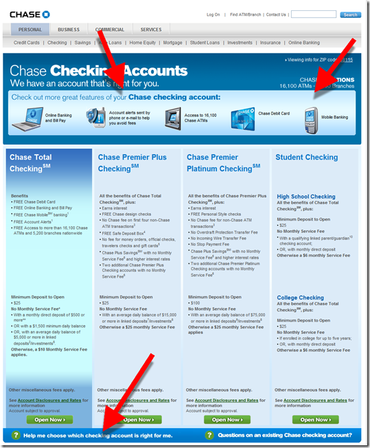 Bottom Line Chase Does A Good Job Engaging Checking Account