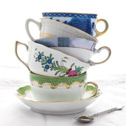 Treasured teacups make the tea experience special