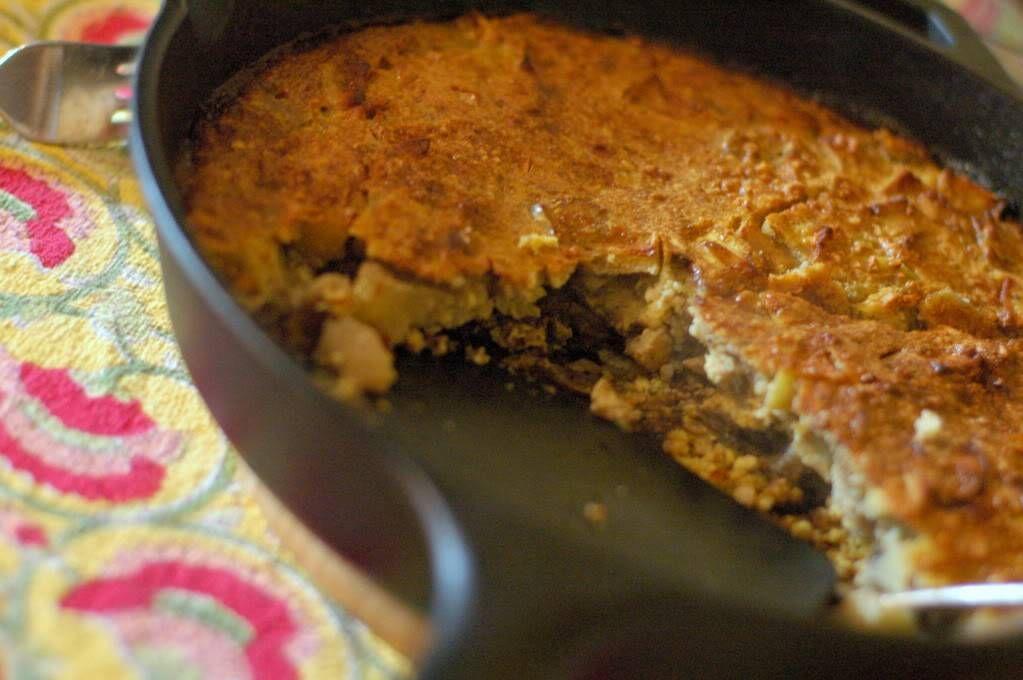 Dutch Baby Pancake with Almonds & Apples | Recipe | Dutch ...
