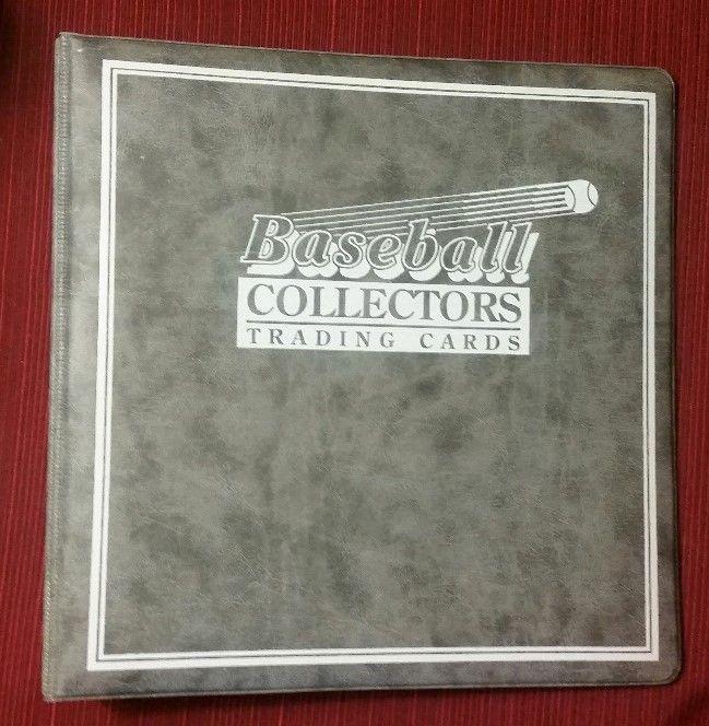 Baseball Collectors Trading Card 3-Ring Binder Album Plus